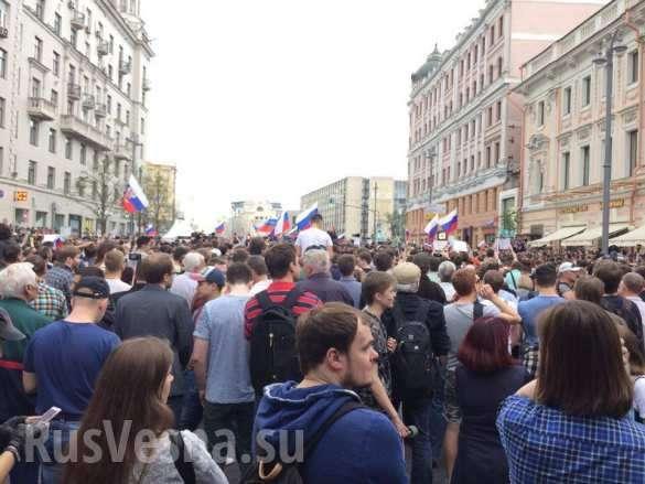 В Москве и Петербурге на несанкционированных митингах оппозиции задержали более 650 провокаторов | Русская весна