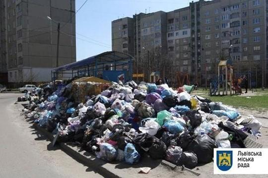 Украина, Львов, мусорная катастрофа: власти сочли город местом чрезвычайной экологической ситуации