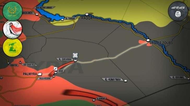 Сирия: наёмники США из ИГИЛ готовят крупный штурм Дейр эз Зора