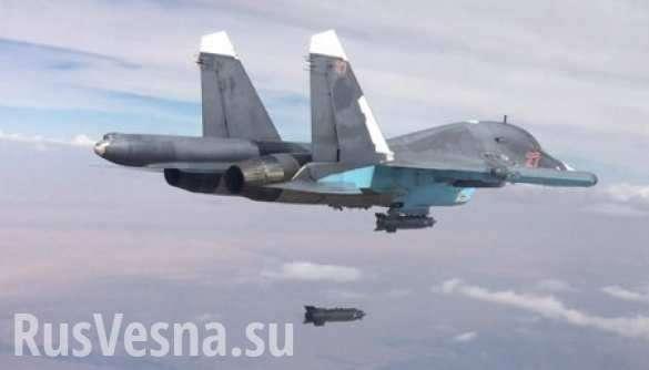 Сирия, ВКС России: Охота на ИГИЛ глазами пилота Cу-34 – террористов в клочья | Русская весна