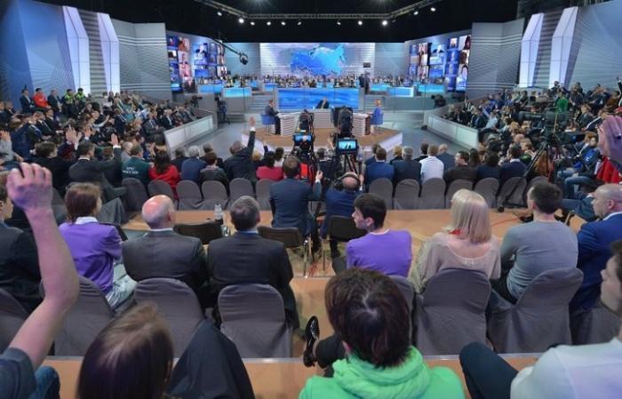 «Прямая линия» с Владимиром Путиным: за сутки до события поступило 1,6 млн вопросов россиян