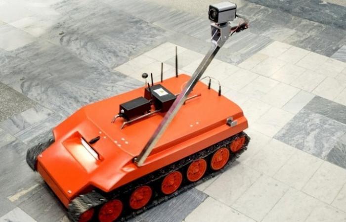 Томск: ученые создали робота-разведчика для Арктики устойчивого к ядам и радиации