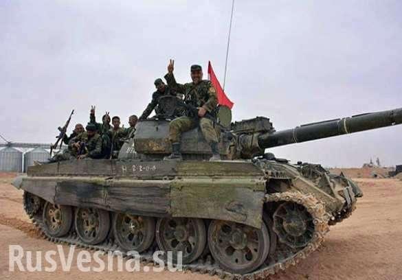 Бои в пустыне: Оборона наёмников США рухнула под ударами ВКС России и армии Сирии на пути к Дейр эз Зору (ВИДЕО 18+) | Русская весна