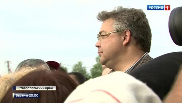 Выполняя поручение Владимира Путина, глава Ставрополья приехал в село Краснокумское