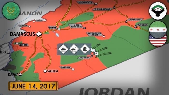 Сирия: атака американских сил на сирийскую армию