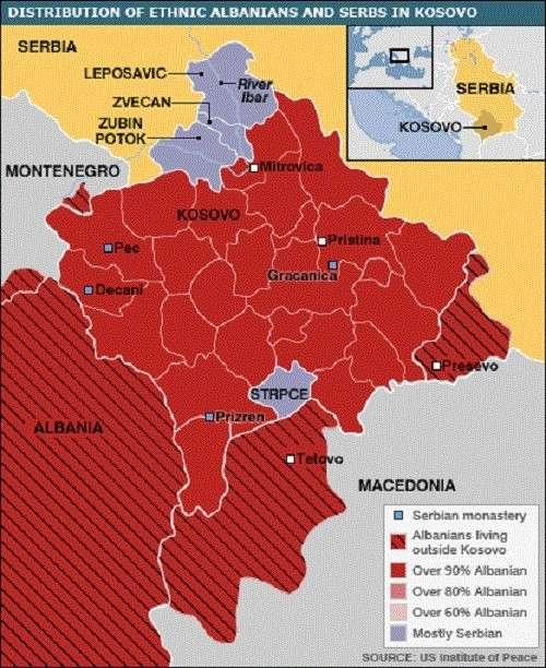 Выборы в Косово могут привести к началу новой войны на Балканах