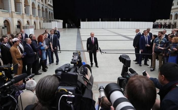 Владимир Путин ответил навопросы журналистов поитогам «Прямой линии»
