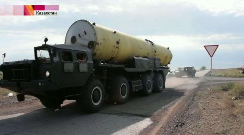 В Казахстане российские военные провели успешные испытания новой противоракеты