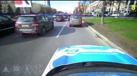 Российские беспилотные автомобили проехали 500 тысяч километров