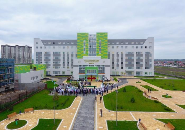 ВИнгушетии открылись современные онкодиспансер иперинатальный центр