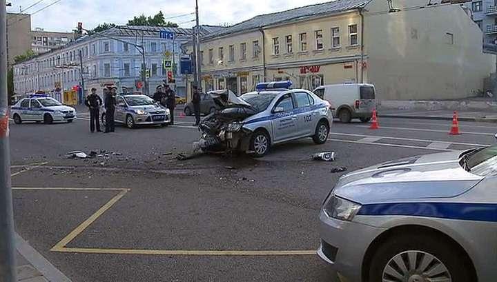 Крупная авария в Москве: