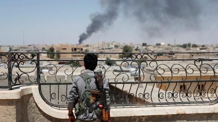 Сирия, агрессия США: сбит сирийский военный самолёт в районе Ракки