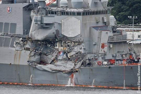 Американских военных моряков погубила диверсия