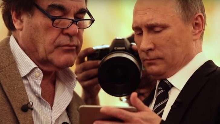 Интервью Оливера Стоуна с Владимиром Путиным (4 серии)