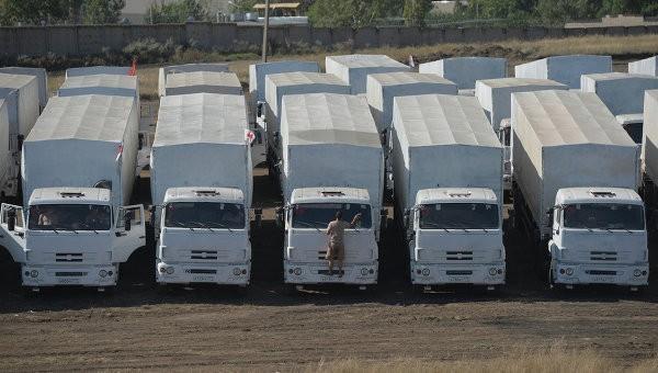Сотрудники МККК будут находиться в каждой машине с гуманитарной помощью