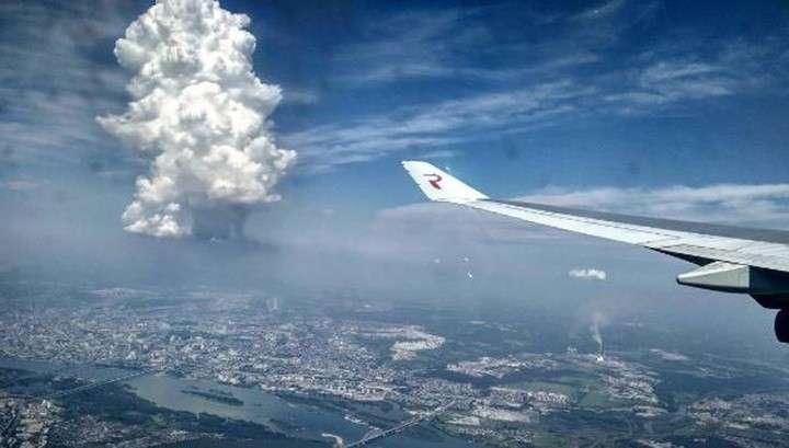 Погодные кошмары происходящие в России и Европе хотят спихнуть на китайский спутник