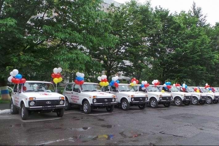Врачам ифельдшерам Северной Осетии передано 42 автомобиля «Нива»