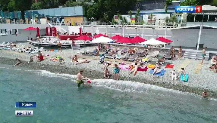 Пляж в Ялте вошёл в число лучших пляжей мира