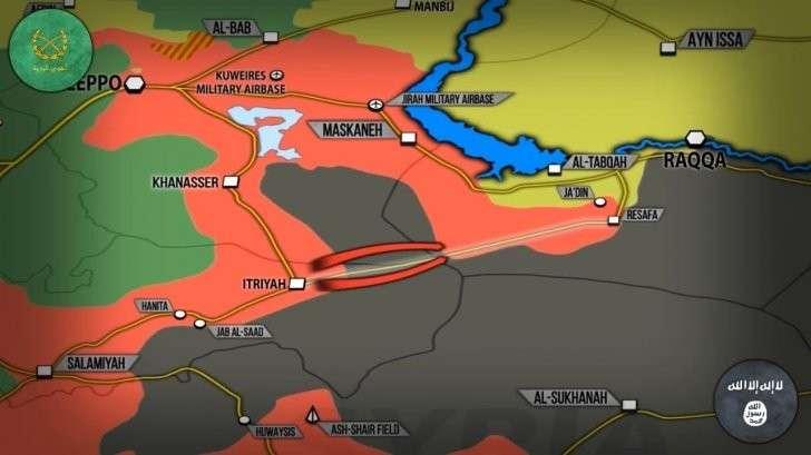 Сирия: самолеты США в прицелах русских ПВО