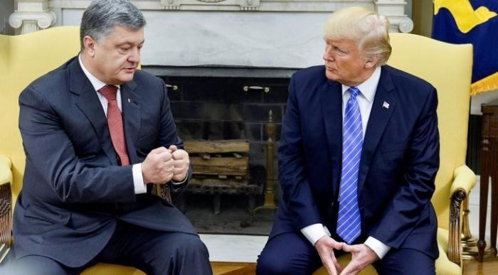Порошенко и Трамп: полчаса «детальной» беседы привели Вальцмана в восторг