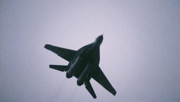 Каратели сообщают, что ополченцы сбили МиГ-29 в Луганской области