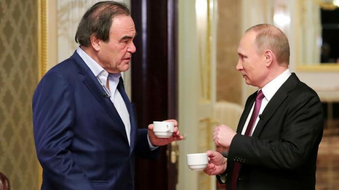 Оливер Стоун в ходе пресс-конференции ответил на вопросы о фильме про Путина