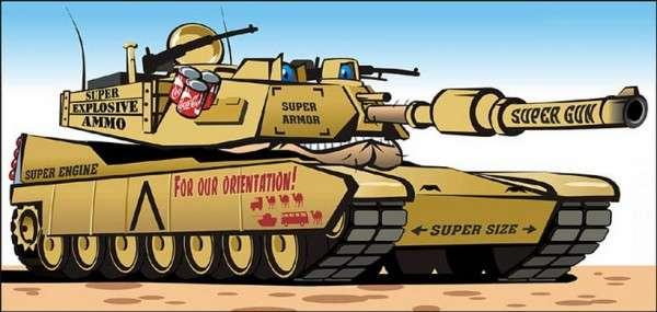 Новейшие американские танки изготовленные по древним технологиям – гордость украинских аналитиков