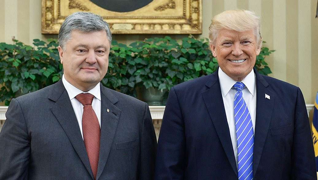 Встреча Трампа с Порошенко: что осталось за кадром