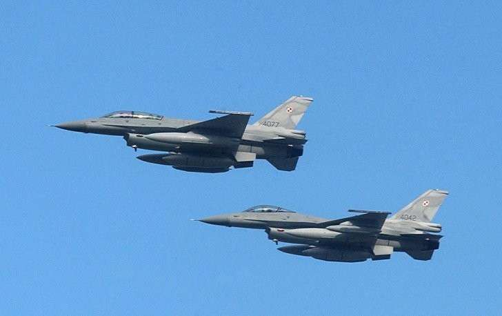 Российские истребители за неделю выполнили 14 перехватов иностранных самолётов