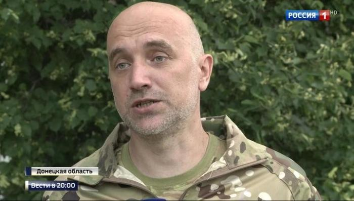 Писатель Захар Прилепин объяснил, что делает на передовой в Донбассе
