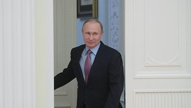 Президент России Владимир Путин прибыл в детский центр «Артек»