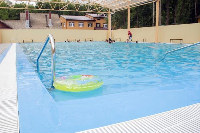 Под Белгородом в детском оздоровительном лагере открылись новый бассейн испальный корпус