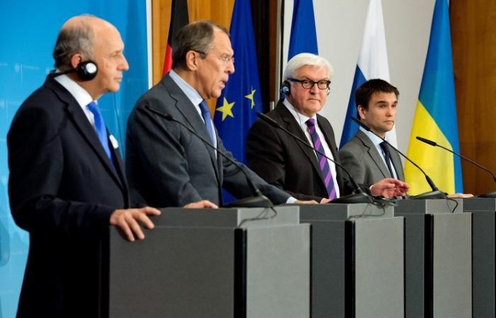 В Берлине проходит четырёхсторонняя встреча по Украине