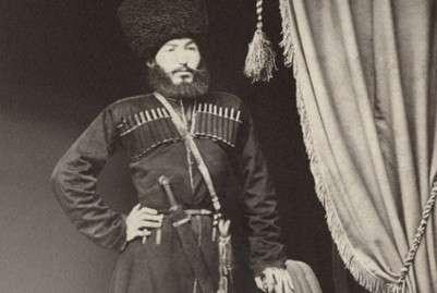 Зубаир-бек (1849гр) сын Шах-вали-бека Тарковского Фото предоставлены организаторами выставки.
