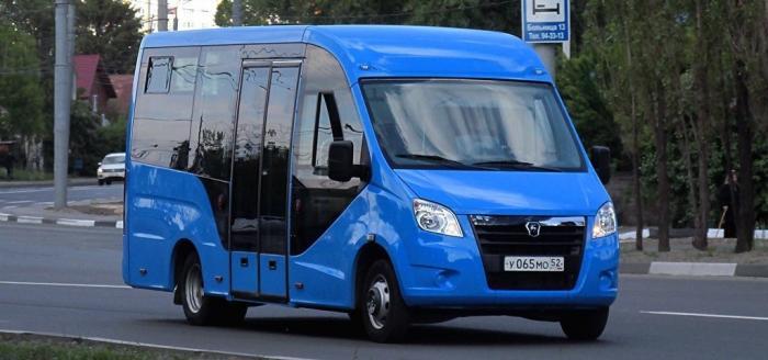 В России представили прототип нового полунизкопольного микроавтобуса ГАЗель Next
