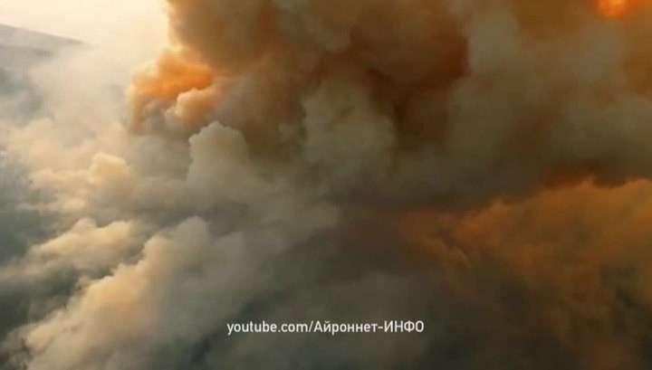 В Бурятии горит более 5 тысяч гектаров леса