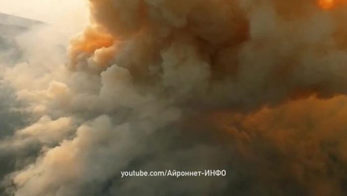В Сибири в Бурятии горит более 5 тысяч гектаров леса