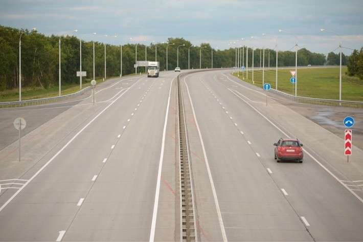 Новосибирские дорожники досрочно открыли движение нановом участке федеральной трассы Р-254 «Иртыш»