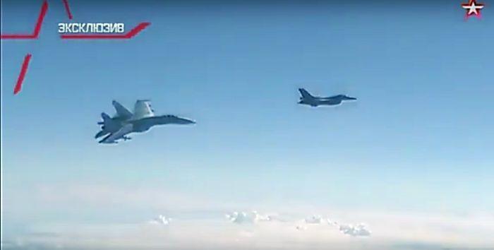 Как истребитель НАТО смело перехватывал самолёт Шойгу