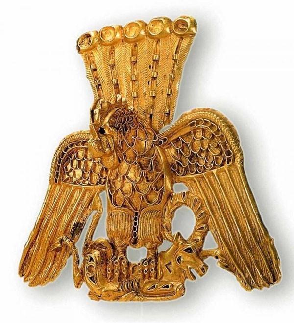 Древние сокровища сибирских «бугров» (курганов)