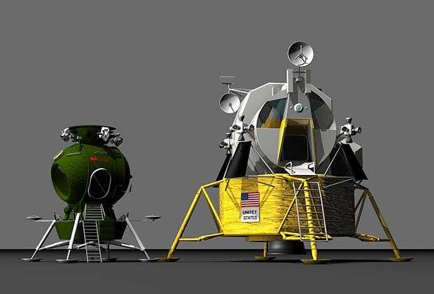 Сравнение спускаемых модулей Л3 и Apollo