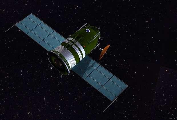 Лунный корабль Л3 (в представлении художника)