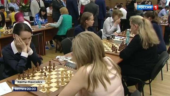 Российские шахматистки впервые завоевали золото командного чемпионата мира