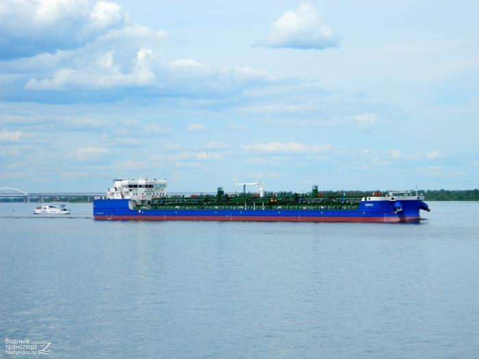 Завод «Красное Сормово» сдал заказчику танкер-продуктовоз-химовоз