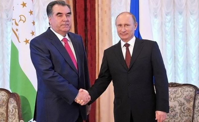 Лидер Таджикистана получил поздравления от Путина с Днём национального единства