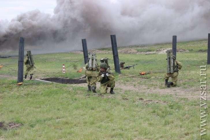 Лучшие огнеметчики России из Саратова