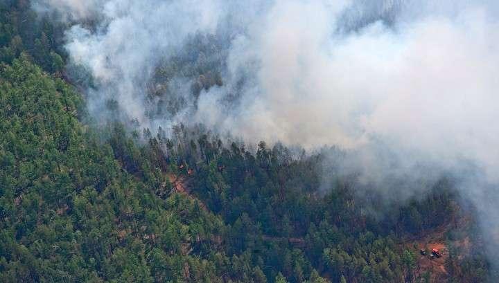 В Забайкальском крае ситуацию с лесными пожарами продолжает осложняться