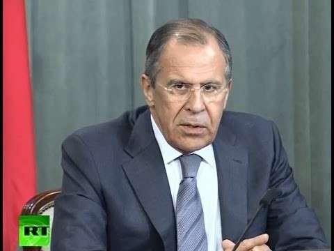 Пресс-конефренция Лаврова по итогам переговоров по Украине. Трансляция