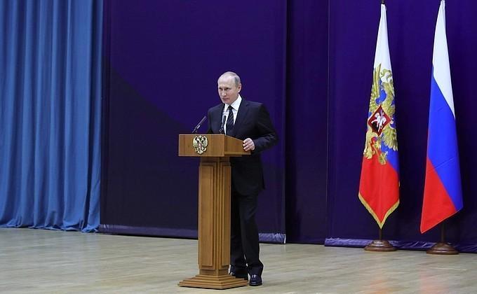 Владимир Путин поздравил сотрудников иветеранов СВР с95-летием нелегальной разведки