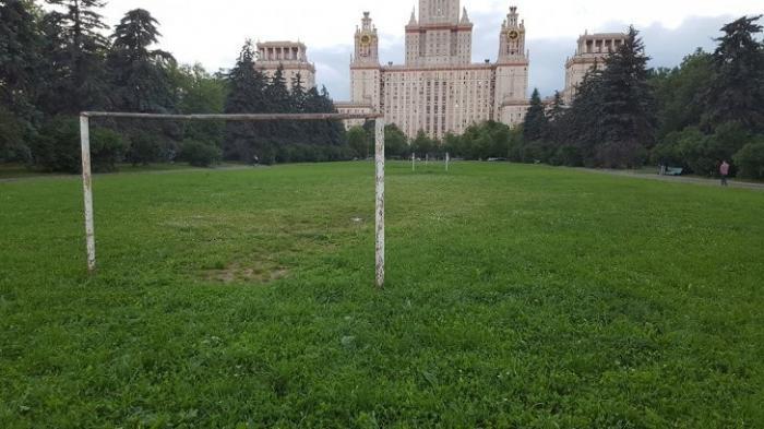 Как выглядят спортивные объекты в лучшем вузе страны МГУ